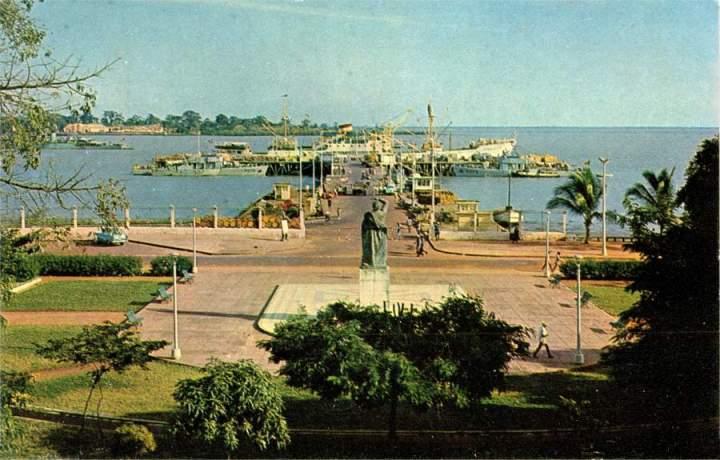 Ponte-cais Bissau